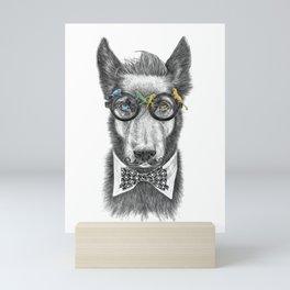 Docga Bowie II Mini Art Print