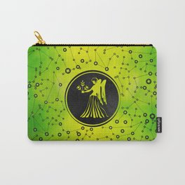 Virgo Zodiac Sign Earth element Carry-All Pouch