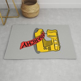 Anarchy Sewing Machine Rug