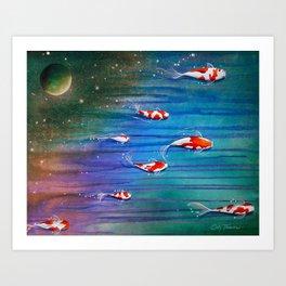 Flight Of The Eventide Art Print