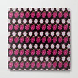 strange fruits (dragonfruit) Metal Print