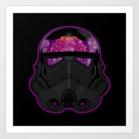 trooper Art Prints featuring Trooper by Betmac