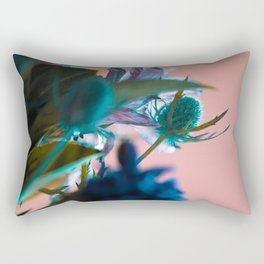 Flowers/Amnesia Rectangular Pillow