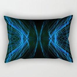 219 - Abstract lights design Rectangular Pillow