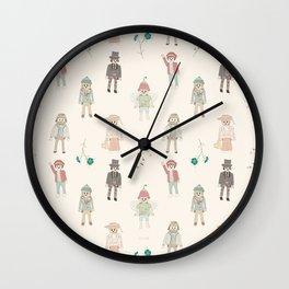 vintage toys Wall Clock