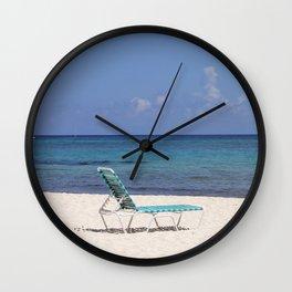 Beach Chair Wall Clock