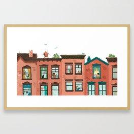 Windows Framed Art Print