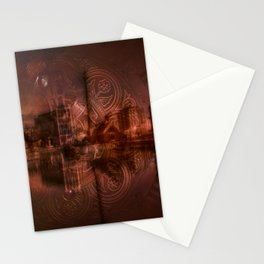 albert dock Stationery Cards