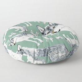 Totem Alberta Wolf Floor Pillow