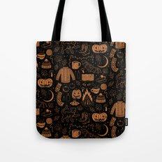 Autumn Nights: Halloween Tote Bag