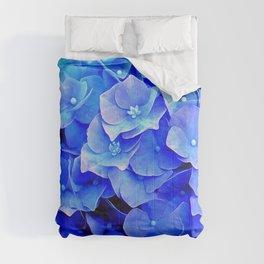 Hydrangea Blues Comforters