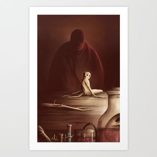 The mandrake Art Print