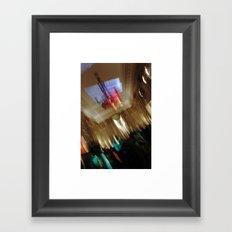 la nuit II - light dance Framed Art Print