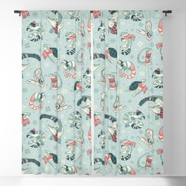 Winter herps Blackout Curtain
