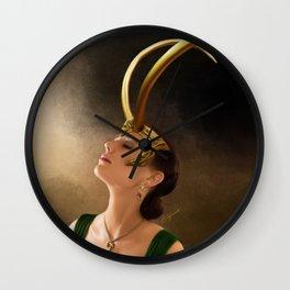 Lady Loki Wall Clock