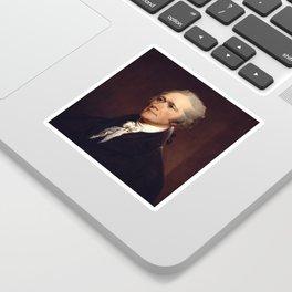 Alexander Hamilton by John Trumbull Sticker