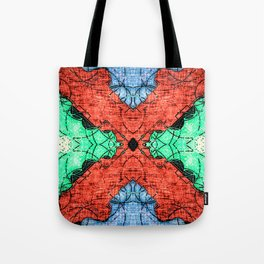 Abstract Pattern Design Tote Bag