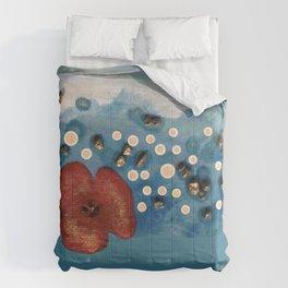Coquelicot intemporel bis Comforters