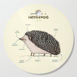 Anatomy of a Hedgehog Cutting Board
