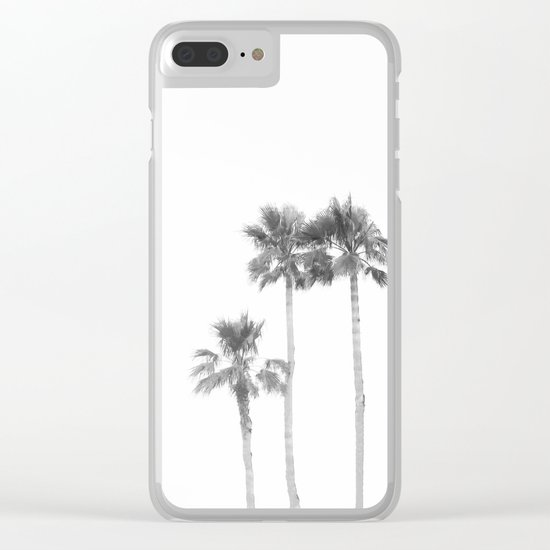 Tranquillity - bw Clear iPhone Case