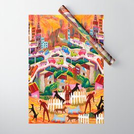 Ambos Nogales (Square) Wrapping Paper