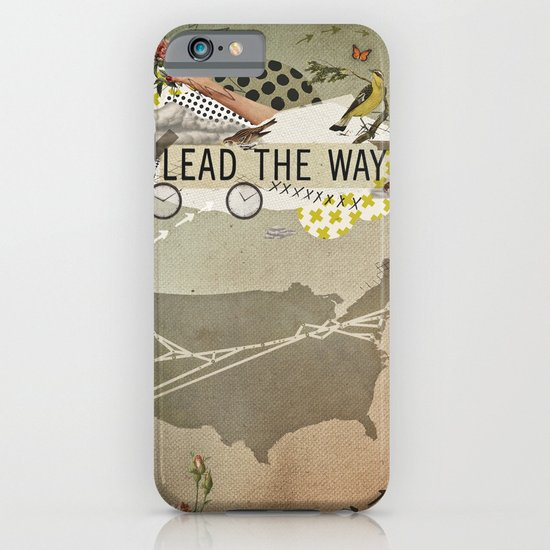 lead the way iPhone & iPod Case