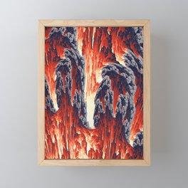 Volcano Framed Mini Art Print