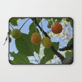 First Blush--Ripening Cherries Laptop Sleeve