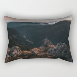 Evening Mood - Landscape and Nature Photography Rectangular Pillow