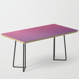 Bright Pink Ultra Violet Gradient | Pantone Color of the year 2018 Coffee Table