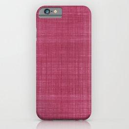 Tissu d'écorce Rose iPhone Case