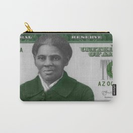 Proposed African American Icon Harriet Tubman Single U.S. Mint 20 Dollar bill Carry-All Pouch