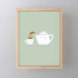 Tea Time! Framed Mini Art Print