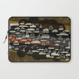 automobiles in a jam Laptop Sleeve