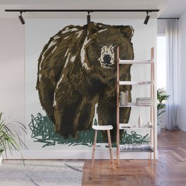 Grizzly Wall Mural