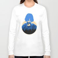 bioshock Long Sleeve T-shirts featuring Bioshock Infinite Elizabeth by Bill Pyle