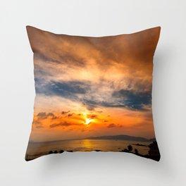 A Sunrise Glow Throw Pillow