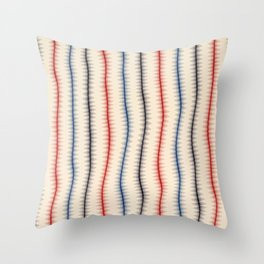 Snowflakes Are Dancing Throw Pillow