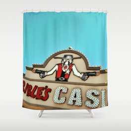 Terribles Casino Shower Curtain