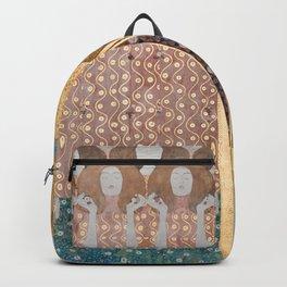 Gustav Klimt - Beethovenfries Backpack