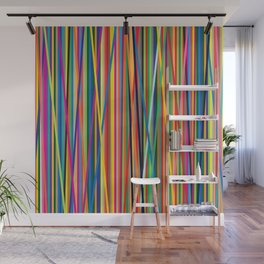 STRIPES STRIPES STRIPES Wall Mural