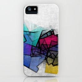 the puzzled horizon iPhone Case