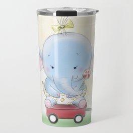 Baby Elephant needs to be walked Travel Mug