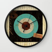 focus Wall Clocks featuring Focus by Michael Jon Watt