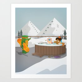 The Nick Yorkers in Faburary Art Print