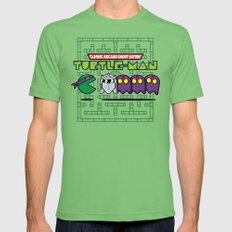 Hero in a Pac-Shell (Donnie) Mens Fitted Tee Grass X-LARGE