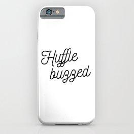 Magic cute Hufflebuzzed iPhone Case