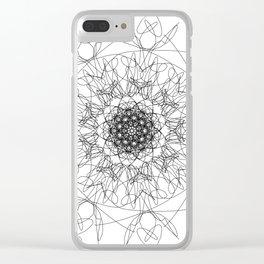 mandala - muse 3 Clear iPhone Case