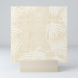 PALM LINEN Mini Art Print