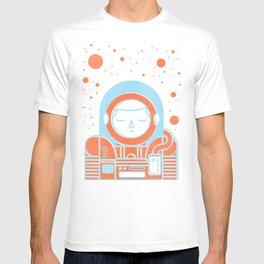 Orange Space T-shirt